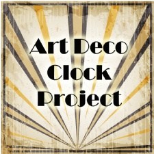 GCSE RM Completes Art Deco Clock Project