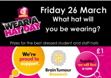Wear A Hat Day - Friday 26 March 2021