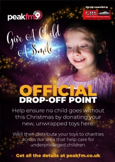 Peak FM Give A Child A Smile - Official Drop-off Point